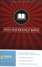 The TNIV Reference Bible--bonded leather, black  - Slightly Imperfect