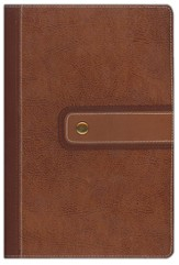 NIV Archaeological Study Bible Cashew/Caramel bonded leather 1984