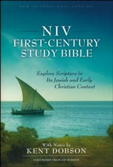 NIV First-Century Study Bible  - Slightly Imperfect