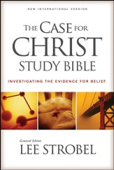 The Case for Christ Study Bible: Investigating the  Evidence for Belief, Hard cover - Slightly Imperfect