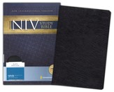 Zondervan NIV Study Bible, Bonded Leather, Black - Slightly Imperfect