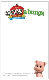 Cowabunga Farm VBS: Sticky Notepads, 10