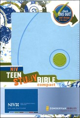 NIV Teen Study Compact, Case of 24