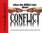What The Bible Says About Conflict Audiobook on CD