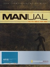 Manual: The NIV Bible for Men, Hardcover  1984