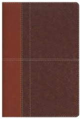 NIV Life Application Study Bible, soft leather-look--caramel/dark caramel 1984