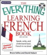 The Everything Learning French Book, Second Edition with CD