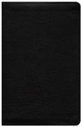 NIV Life Application Study Bible, Personal Size, Bonded Leather, Black - Slightly Imperfect