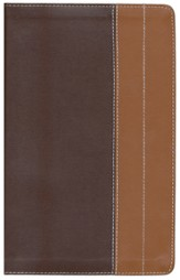 NIV Life Application Study Bible, Personal Size, European Leather, Chocolate/Tan 1984