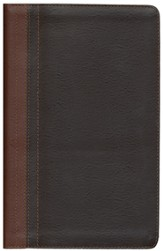 NIV Life Application Study Bible, Personal Size, European Leather, Dark Caramel/Espresso 1984