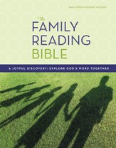 The NIV Family Reading Bible  1984