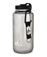 His Armor Sport Bottle, Clear Color, with His Armor Carabiner Keychain