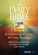 The Daily Bible, Hardcover - Slightly Imperfect