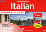 Instant Immersion Italian Beginner Audio Course