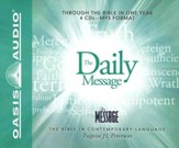 The Daily Message: Through the Bible in One Year - Unabridged Audiobook on MP3