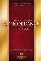 HCSB Comprehensive Concordance of the Holy Bible
