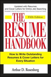 The Resume Handbook, 5th Edition