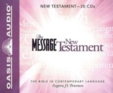 The Message: The New Testament - Unabridged Audiobook on CD