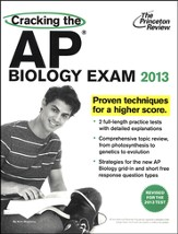 Cracking the AP Biology Exam, 2013 Edition (Revised) - Slightly Imperfect