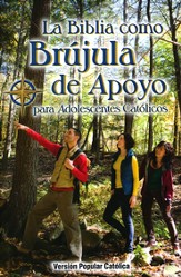 La Biblia Como Brujula de Apoyo para Adolescentes Catolicos DHH  (DHH Compass Bible for Catholic Teens) - Slightly Imperfect