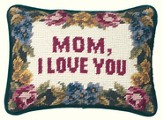 Mom I Love You Pillow