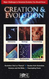 Creation & Evolution Pamphlet Darwinian Evolution You Should Know - Slightly Imperfect