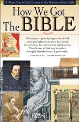How We Got the Bible Pamphlets: 10 Pack