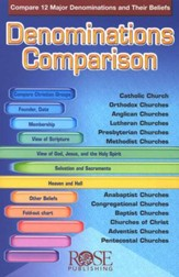 Denominations Comparison Pamphlet - 5 Pack