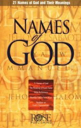 Names of God 10 Pack Pamphlets