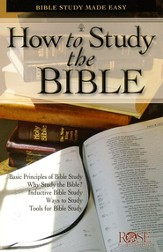 How to Study the Bible, Pamphlet, 10