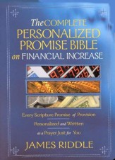 The Complete Personalized Promise Bible on Financial Increase