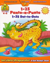 1-25 Dot-to-Dot (Bilingual Edition)