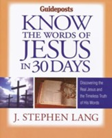 Know the Words of Jesus in 30 Days  (slightly imperfect)