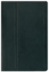 NIV Life Application ® Study Bible, Renaissance Fine Leather, Ebony 1984 - Imperfectly Imprinted Bibles