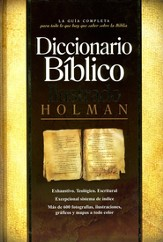 Diccionario Bíblico Ilustrado Holman  (Holman Illustrated Bible Dictionary) - Slightly Imperfect