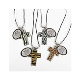 Cross Necklaces Wild About Jesus, Package of 4