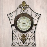 O Sing Unto the Lord Metal Wall Clock