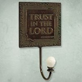 Trust in the Lord Metal Wall Hook