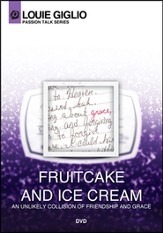 Fruitcake and Ice Cream