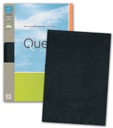 NIV Quest Study Bible: The Question and Answer Bible, Bonded Leather, Black