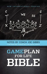 The Game Plan for Life Bible, NIV: Notes by Joe Gibbs - Imperfectly Imprinted Bibles