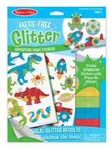 Cool Creatures Foam Glitter Stickers
