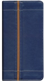NIV Trimline Bible, Italian Duo-Tone™, Blue/Tan 1984
