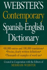 Webster's Dictionary Bilingual Edition