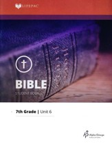 Lifepac Bible Grade 7 Unit 6: The Psalms