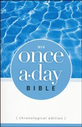 NIV Once-A-Day Bible: Chronological Edition - Slightly Imperfect