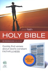 Find Faith: NIV VerseLight Bible: Quickly Find Verses about God's Constant Faithfulness 1984