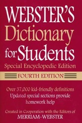 Webster's Dictionary for Students: Special Encyclopedic Edition (Fourth Edition)