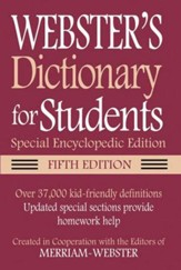 Webster's Disctionary for Students, Special  Encyclopedic Edition