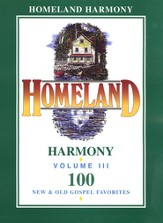 Homeland Harmony Vol. 3 Songbook